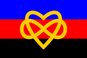 Quelle: https://commons.wikimedia.org/wiki/File:Polyamory_flag_with_infinity_heart.svg