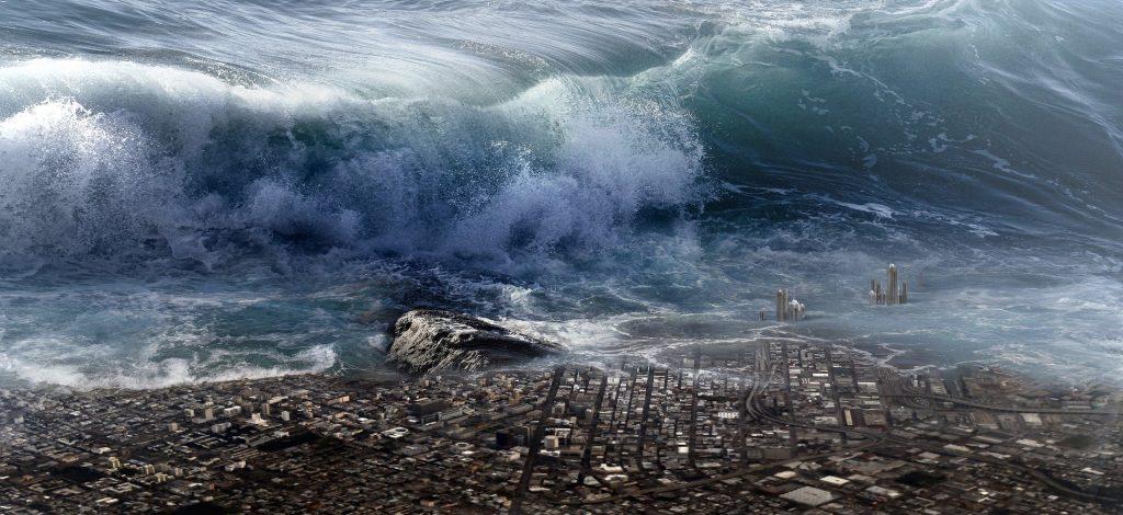 Weltuntergang, Tsunami