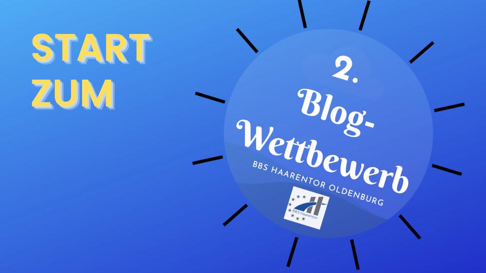 Start zum Blog-Wettbewerb